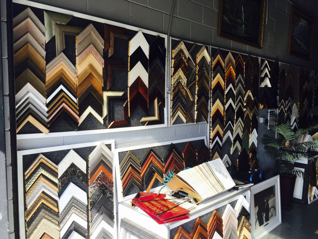 About Frames Framing Shops Gold Coast
